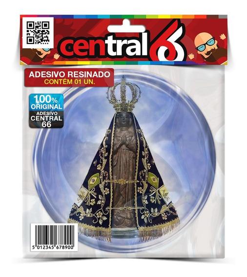 Kit 4 Adesivos Redondo Religião Nossa Senhora Aparecida Resi