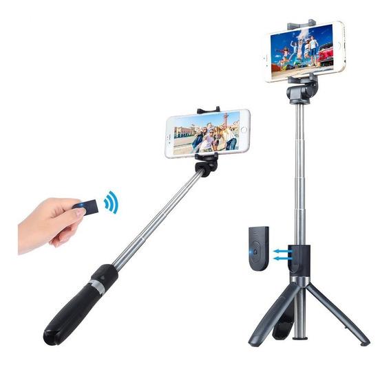 Binden Selfie Stick Tripie Apexel Apl-d4 Para Celular De Hasta 6.5 Pulgadas, Con Obturador Y Soporte Giratorio De 360º