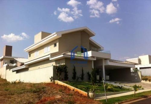 Casa Com 4 Dormitórios À Venda, 360 M² Por R$ 2.300.000,00 - Residencial Quinta Do Golfe - São José Do Rio Preto/sp - Ca0510