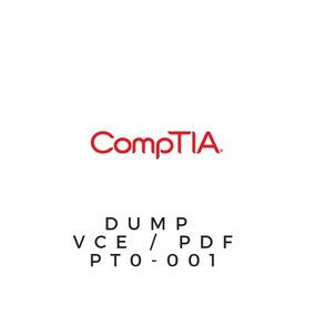 Comptia Pt0-001 Dump Vce Pdf