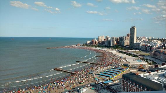 Peatonal Y Playa C/cochera X Dia A Partir De Abril