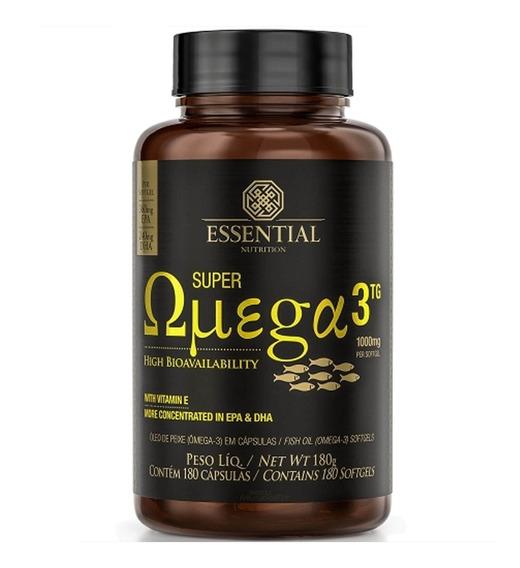 Super Omega 3 1000mg - 180 Caps - Essential Nutrition