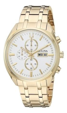 Relógio Masculino Bulova Dourado 97c109