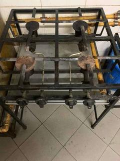 Cocina 4 Hornallas Industrial