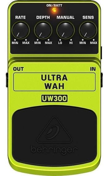 Pedal Multi Efectos Ultra Way Uw300 Behringer