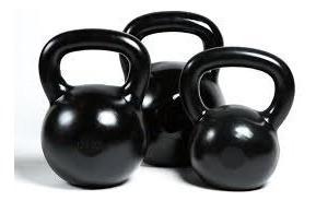Ketllbells Emborrachado Musculação Crossfit 1 Unid De 8 Kg