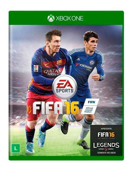 Fifa 16 Xbox One Mídia Física Novo Lacrado