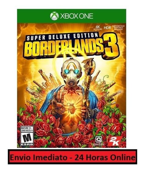 Borderlands 3 Jogo + Todas As Dlcs - Xbox One Digital