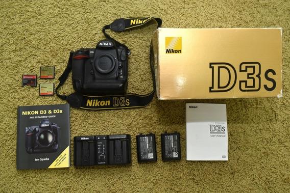 Nikon D3s Completa Estado De Zero