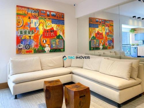 Imagem 1 de 30 de Apartamento Com 3 Dormitórios À Venda, 98 M² Por R$ 895.749,00 - Taquaral - Campinas/sp - Ap2384