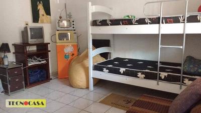 Bangalô Mobiliado Para Alugar Na Vila Caiçara, Em Praia Grande! - Bg0001