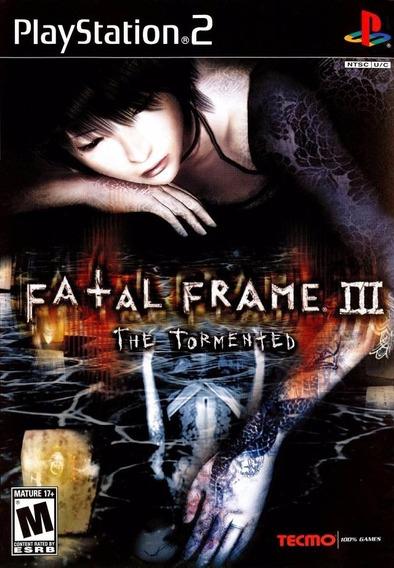 Fatal Frame 3 The Tormented Play 2 Frete Grátis Leia Anúncio