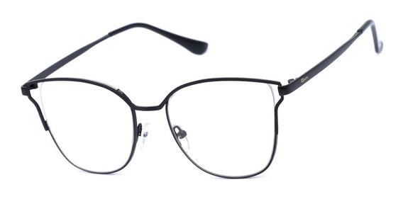Armação Oculos Feminino Ogrife Og 2031-c Com Lente Sem Grau