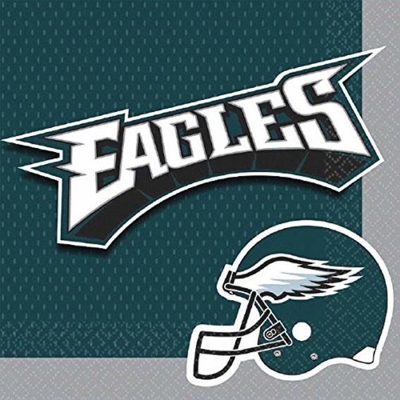 Nfl Philadelphia Eagles Collection Luncheon Napkins