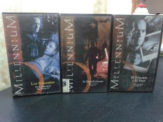 Milennium- Serie Fox-chris Carter-coleccion-vhs