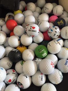 Colección De Pelotas De Golf De Canchas Y Países Del Mundo