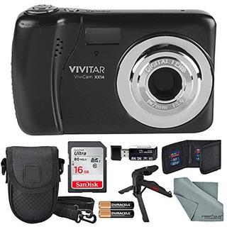 Vivitar Vivicam Xx14 Digital Camera (black) And Accessory Bu