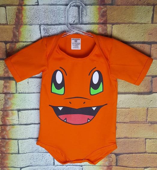 Body De Bebê Pokémon Charmander, Bulbasaur, Squirtle
