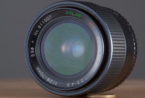 Lente Zoom Macro M42 Polar 28-70mm