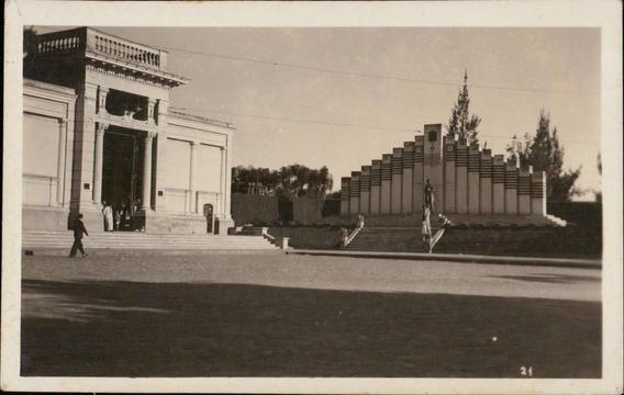Cartão Postal Antigo Campinas Sp Mausoleo Volunt.campineiros