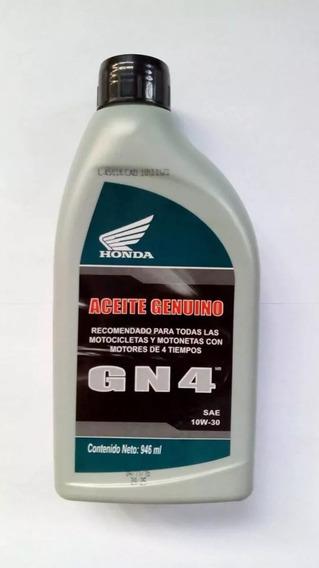 Aceite Genuino Honda Gn4 10w-30 Para Motocicletas 4t 10 Pack