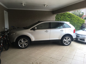 Ford Edge 3.5 Limited Awd 5p Prata Suv Teto Panoramico