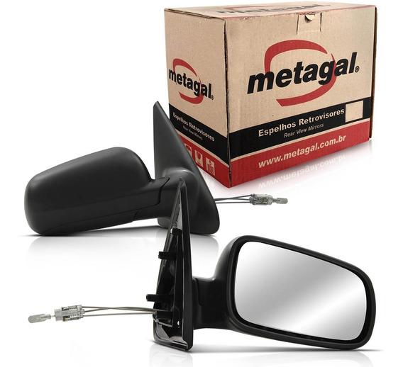 Espelho Retrovisor Gol G2 G3 G4 2000 A 14 Controle 2 Portas