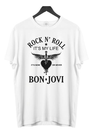 Camiseta Masculina Bon Jovi It