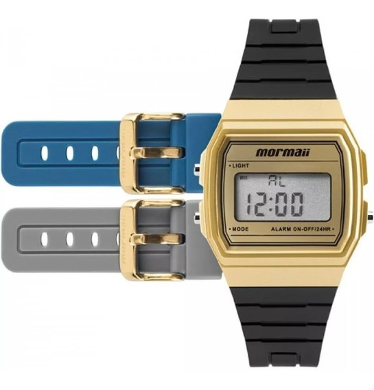 Relógio Mormaii Troca Pulseira Vintage Mojh02af8d Envio Rapi