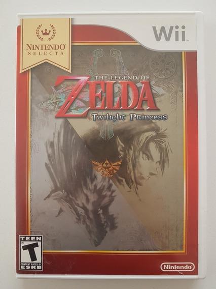 Zelda Twilight Princess Original Para Nintendo Wii