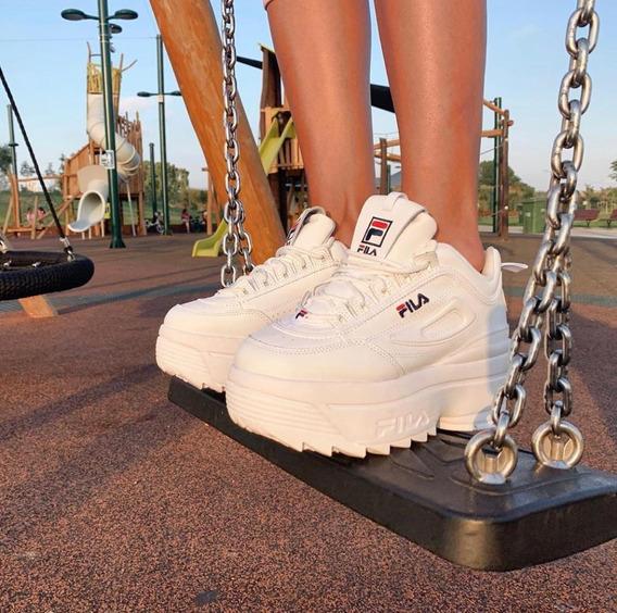 Fila Disruptor I Wedge Plataform Sneakers Moda