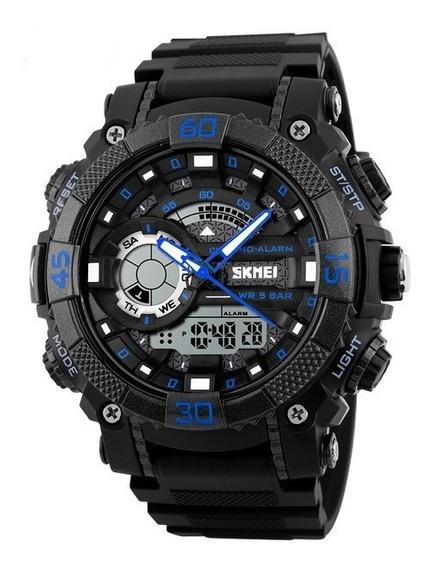 Relógio Masculino Skmei 1228 Prova Dágua 3 Cores Digital