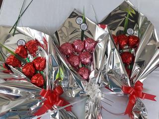 Ramo 6 Rosas De Chocolate