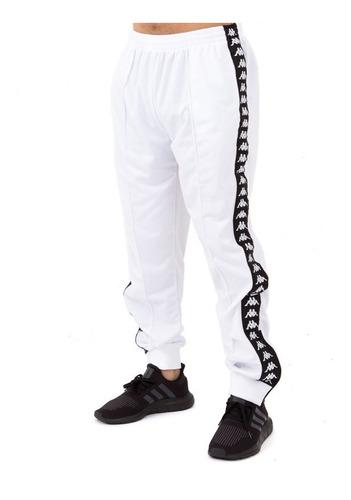 Pantalon Kappa Banda Rastoria Slim Blanco Chupin