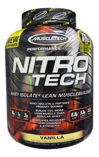 Nitro Tech Muscletech 3.9 Lb Whey Protein Isolat Performance