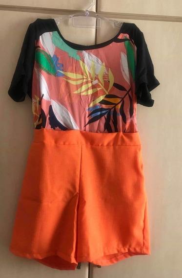 Conjunto Com Shorts E Blusa Estampada Plus Size Grande Verao