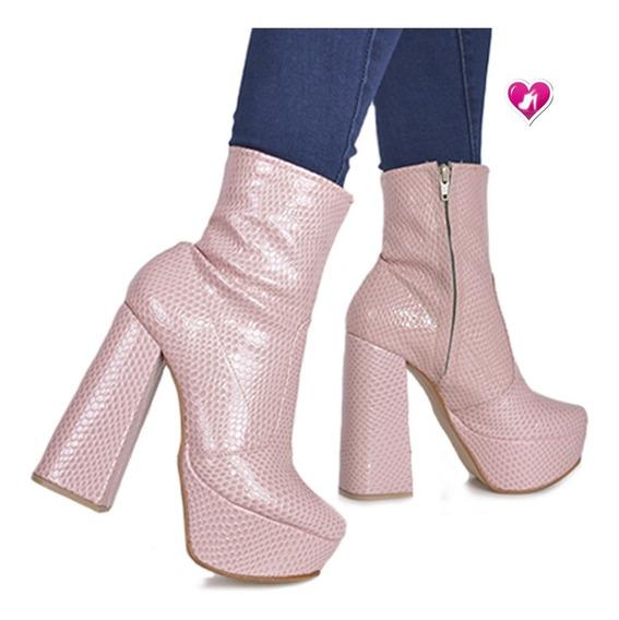Botineta Igual A Bucanera Cortita Mod Dyablita Shoes Bayres