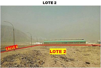 Ocasión - Vendo Terreno Industrial En Huachipa