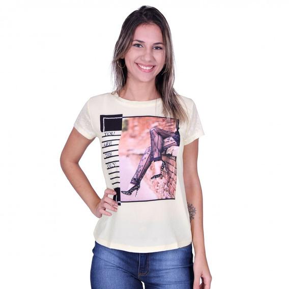 Blusa Feminina Ellabelle U-1026 - Asya Fashion