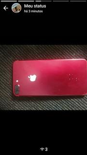 iPhone 7 Plus Vermelho 128 Gb Edição Limitada.