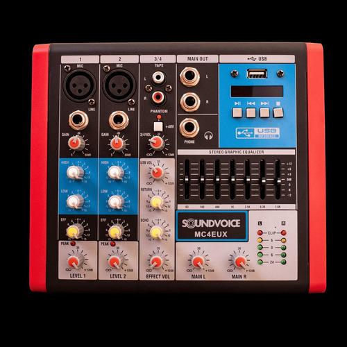 Mesa Soundvoice Mc-4 Eux
