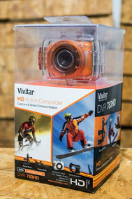 Câmera Filmadora Profissional Vivitar Dvr783hd Completa