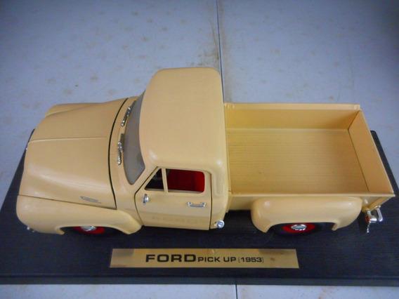 Ford Pick Up F-100 1953 1/18 Roadlegends Nueva.