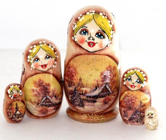 Mamushka/ Matrioshka Muñeca Rusa - Regalos De Rusia