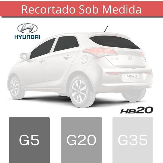 Película Insufilm Hyundai Hb20 Hatch Sob Medida Antichip
