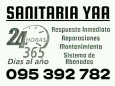Sanitaria 24 Horas 365 Dias Emergencia Todo Montevideo Yaa