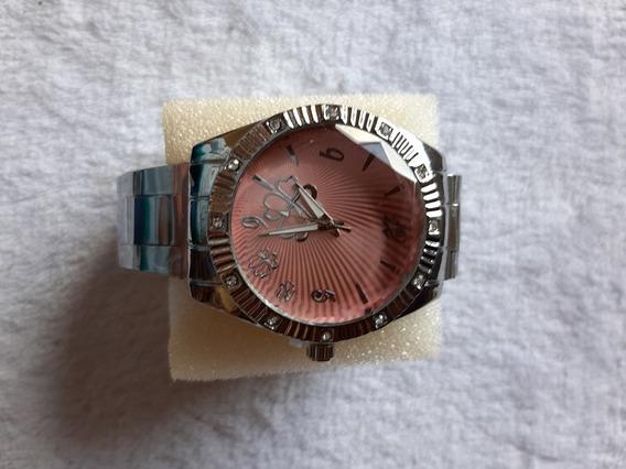 Relógio Feminino Lindo,barato, Pulseira Metal ,promoção