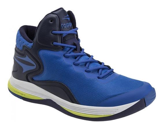 Zapatilla Topper Basket Playmaker 2 Azul 52086
