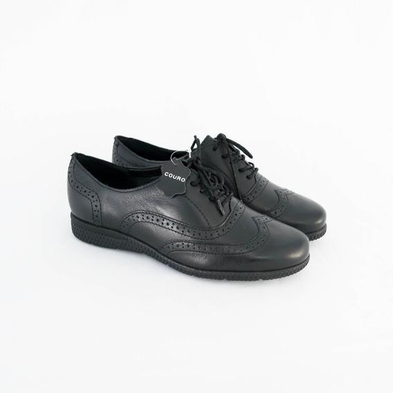 Sapato Bottero 301905 Argos Oxford Couro 100% Original