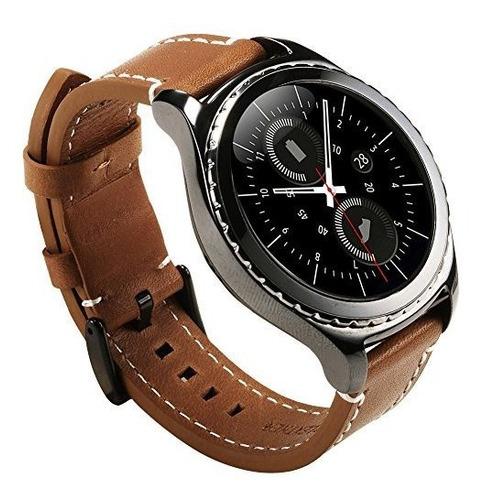 Para Samsung Gear S2 Correa De Reloj - Valkit Piel Autentica